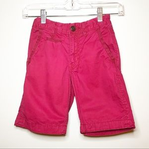 Gap Kids Boys Red Chino Shorts